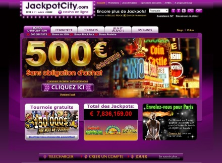 Aperçu Jackpot City Casino (Bonus & Informations)