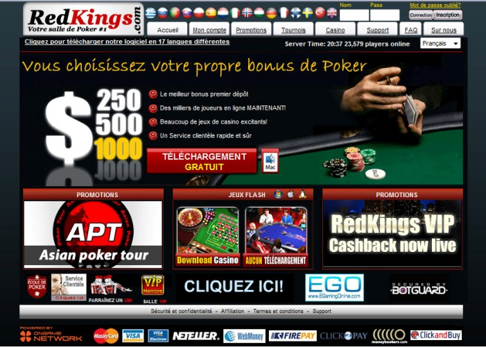 Aperçu Red Kings Poker (Bonus & Information)